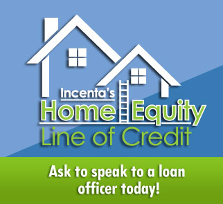 Incenta's Home Equity Line of Credit