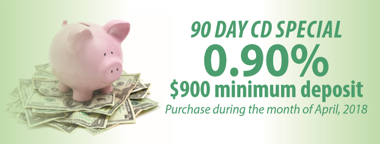 90 Day CD Special