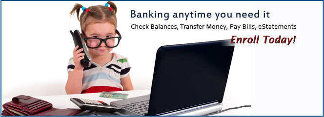 Click to go to our Home Banking page.